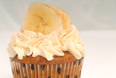 Delicious carrot cake cupcake royalty free stock photography