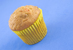 Delicious Carrot Nut Muffin Royalty Free Stock Images