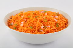 Delicious carrot salad. Stock Images