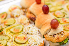 Delicious catering food Royalty Free Stock Photography