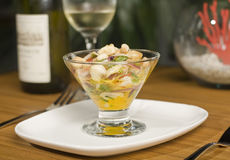 Delicious ceviche Royalty Free Stock Image