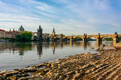 Delicious Charles Bridge in Prague, Czech Republic Royalty Free Stock Photo