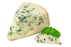 Delicious cheese with mold Royalty Free Stock Photos