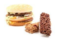 Delicious cheeseburger Royalty Free Stock Photography