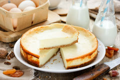 Delicious cheesecake Royalty Free Stock Images