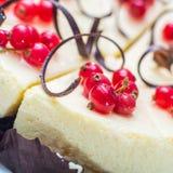 Delicious cheesecake Stock Photos