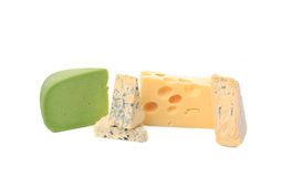 Delicious cheeses. Royalty Free Stock Photos