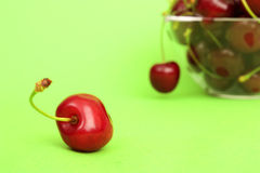 Delicious Cherries Stock Images