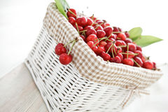 Delicious cherries Royalty Free Stock Images