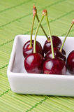 Delicious cherries Stock Photo