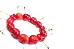 Circle of cherries Stock Photo