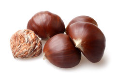 Delicious chestnuts Royalty Free Stock Photography