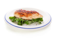 Delicious chicken breast fillet. Royalty Free Stock Photos
