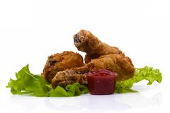 Delicious chicken legs Royalty Free Stock Images