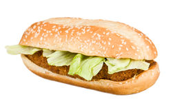 Delicious Chicken Sandwich Royalty Free Stock Image