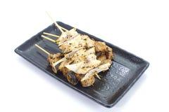 Delicious chicken satay Stock Photos