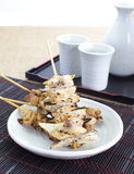 Delicious chicken satay Stock Photography
