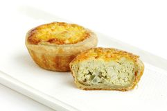 Delicious chicken tarts Stock Photography
