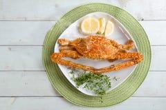 Delicious chili crab Royalty Free Stock Photo