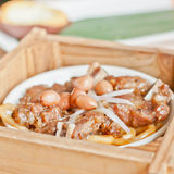 Delicious China snack beef Royalty Free Stock Image