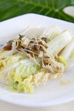 Delicious Chinese cabbage Royalty Free Stock Photos