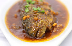 Delicious chinese fish meal Royalty Free Stock Photography