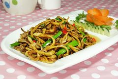 Delicious Chinese food Royalty Free Stock Photography