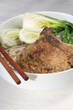 Delicious Chinese noodles soup Stock Image