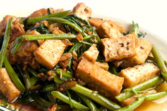 Delicious Chinese vegetarian Stock Photography