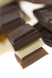 Delicious chocolate Stock Photography