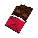 Delicious chocolate bar Stock Photo