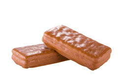 Delicious chocolate biscuit Royalty Free Stock Images