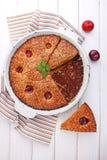 Delicious chocolate cake Stock Photo