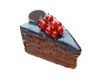 Delicious chocolate cake Royalty Free Stock Image