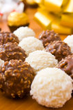 Delicious chocolate candies Royalty Free Stock Photos