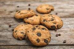 Free Delicious Chocolate Chip Cookies Royalty Free Stock Image - 129847226