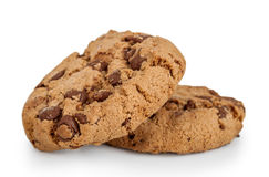Delicious chocolate chip cookies Royalty Free Stock Photography