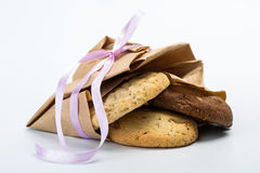 Delicious chocolate cookies Stock Images