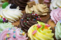 Delicious chocolate cupcake Stock Photos