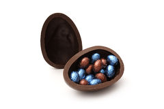 Delicious chocolate egg Royalty Free Stock Image