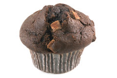 Delicious chocolate muffin. Royalty Free Stock Photo