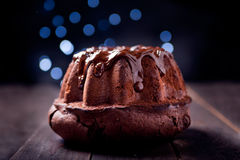 Delicious chocolate pound cake Royalty Free Stock Photo