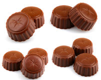 Delicious Chocolate Pralines Royalty Free Stock Photo