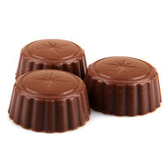 Delicious Chocolate Pralines Royalty Free Stock Photos