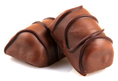 Delicious Chocolate Pralines Royalty Free Stock Photography