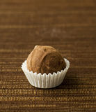Delicious chocolate truffle Royalty Free Stock Photo