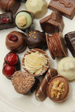 Delicious Chocolates Royalty Free Stock Photo