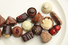 Delicious Chocolates Stock Photos