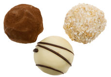 Delicious chocolates royalty free stock images