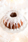 Delicious Christmas bundt Stock Images